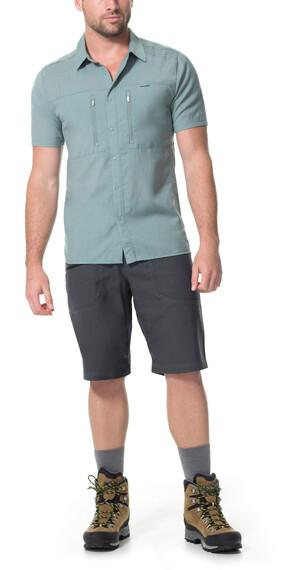 Icebreaker Oreti overhemd en blouse korte mouwen Heren grijs